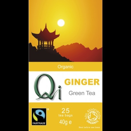 Organic Ginger Green Tea