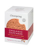Organic Oatcakes ClearSpring Tomatoes