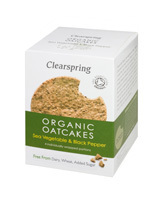 Organic Oatcakes ClearSpring Sea Vegetables