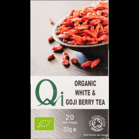 Organic White & Goji Berry Tea