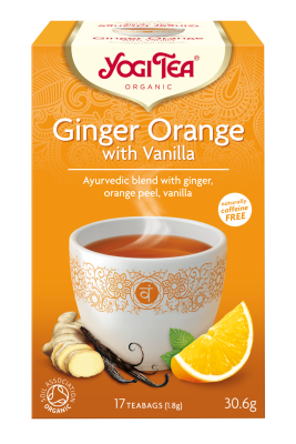 "Yogi Tea ""Ginger, Orange & Vanilla"""